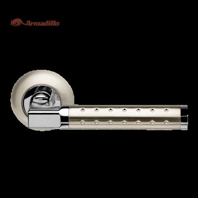 Дверные ручки раздельные Armadillo Eridan LD37-1 SN/CP-3 матовый никель