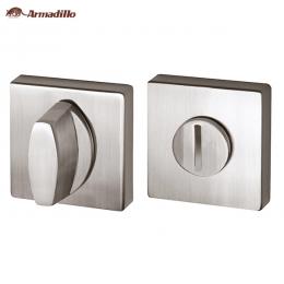 Ручка поворотная Armadillo WC-BOLT BK6-USQ-SN-3
