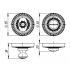 Ручка поворотная Armadillo WC-BOLT BK6-CL-AS-9 античное серебро