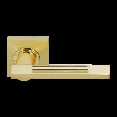Дверные ручки Fuaro Tango KM SG/GP-4 матовое золото