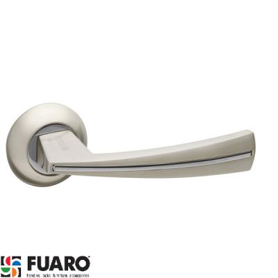 Дверные ручки Fuaro Sound SN/CP матовый никель