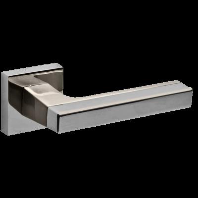 Дверные ручки Fuaro FLASH DM CP/SN-8