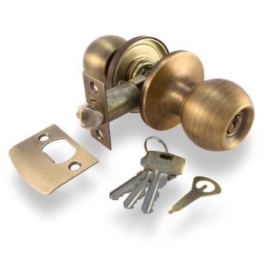 Дверные ручки knob Apecs 6072-01 AN (антик)