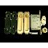 Ручки для раздвижных дверей  Armadillo SH011-BK SG