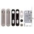 Ручки для раздвижных дверей Armadillo SH011-BK SN матовый никель