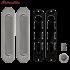 Ручки для раздвижных дверей Armadillo SH010 SN матовый никель