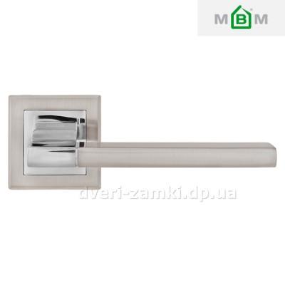 Дверные ручки MVM A-2008 SN/CP (матовый никель/хром)