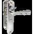 Дверные ручки Kedr на планке HP-42.323 ZN CR хром