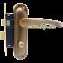Комплект ручек на планке PUNTO Corona STL KWC 62 мм AN