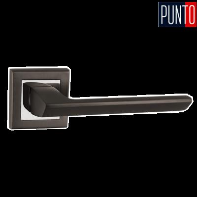 Дверные ручки Punto BLADE QL GR/CP-23 графит /хром