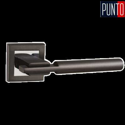 Дверные ручки Punto CITY QL GR/CP-23 графит /хром