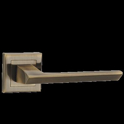 Дверные ручки Punto BLADE QL ABG-6 зеленая бронза
