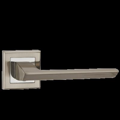 Дверные ручки Punto BLADE QL SN/CP-3 матовый никель