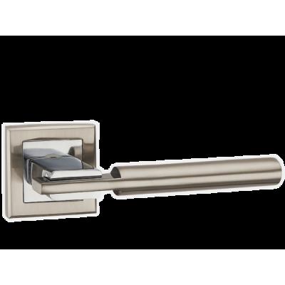 Дверные ручки Punto CITY QL SN/CP-3 матовый хром