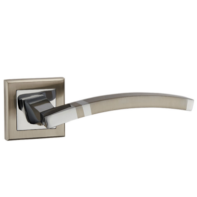 Дверные ручки Punto NAVY QL SN/CP-3 матовый никель