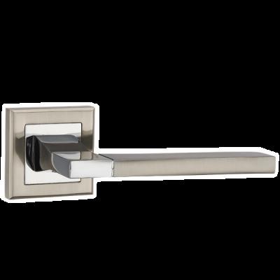 Дверные ручки Punto TECH QL SN/CP-3 матовый хром