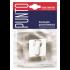 Цилиндровая накладка Punto ET QR GR/CP-23 графит/хром