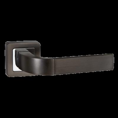 Дверные ручки Punto Orion QR GR/CP-23 графит/хром