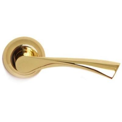 Дверные ручки Апекс H-0823-A G (золото)