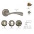Дверные ручки Siba Capri Z23-0-22-22 матовый хром