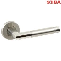 Дверные ручки Siba Paris SS01 0-22-07 из нержавеющей стали