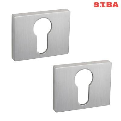 Накладки PZ Siba R12 4-55-55 матовый хром