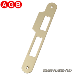 Ответная планка AGB Centro B01000.05.03 латунь