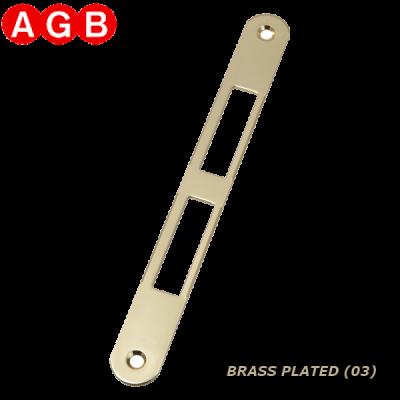 Ответная планка AGB Centro B01000.01.03 латунь