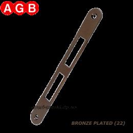 Ответная планка AGB Centro B01000.01.22 бронза