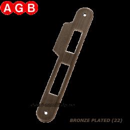 Ответная планка AGB Centro B01000.05.22 бронза
