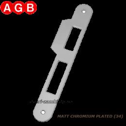 Ответная планка AGB Centro B01000.05.34 матовый хром