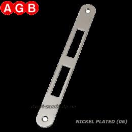 Ответная планка AGB Centro B01000.01.06 никель