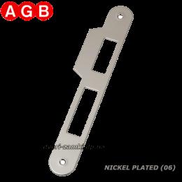 Ответная планка AGB Centro B01000.05.06 никель