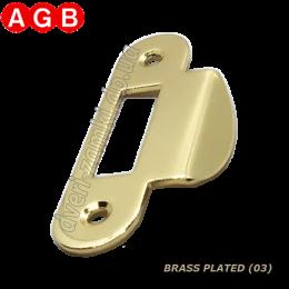 Ответная планка AGB Easy-Matic XT B01000.13.03 латунь