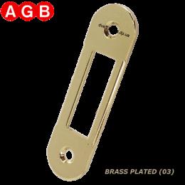Ответная планка AGB Easy-Matic XT B01000.40.03 латунь