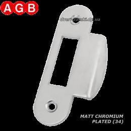 Ответная планка AGB Easy-Matic XT B01000.13.34 матовый хром