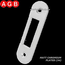 Ответная планка AGB Easy-Matic XT B01000.40.34 матовый хром