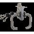 Замок Гардиан 30.11 с ручками Kedr INOX (нержавеющая сталь)