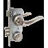 Замок Kale 152 3MR ручками Apecs Standart H-0864-A-NIS матовый никель
