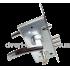 Замок Kale 252R Monoblock в комплекте с ручками Apecs H-0596-A CRM/BW