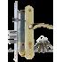 Замок Kale 252 R + Apecs HP-85.0423-G золото + 164DBME 90 mm