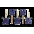 Цилиндр Mul-T-Lock 7x7 100 мм 40x60 ключ тумблер