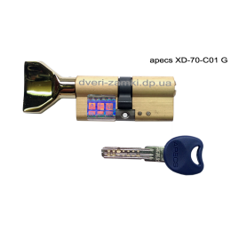 Цилиндр Apecs XD-70-C01 G золото