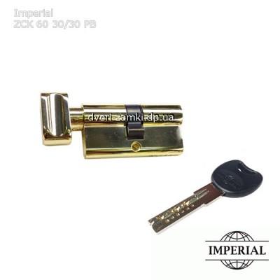 Цилиндровый механизм Imperial ZCK 60 30/30 PB