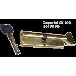 Цилиндр Imperial CK 100 mm (50/50) PB