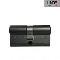 Цилиндр МВМ Linde A6P30/30 ключ/ключ черного цвета