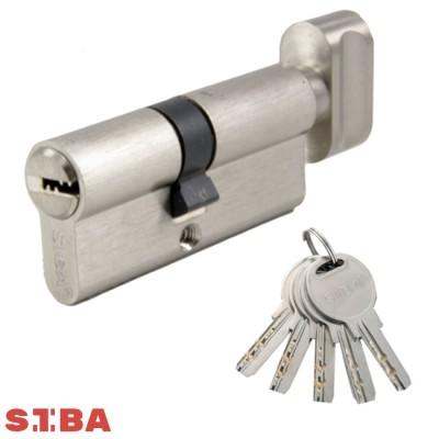 Цилиндровый механизм SIBA 120 мм (60x60T) ключ/поворотник 12120/ВТ