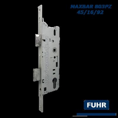 Замок узкопрофильный Fuhr Maxbar 803PZ 45/16/92 Германия