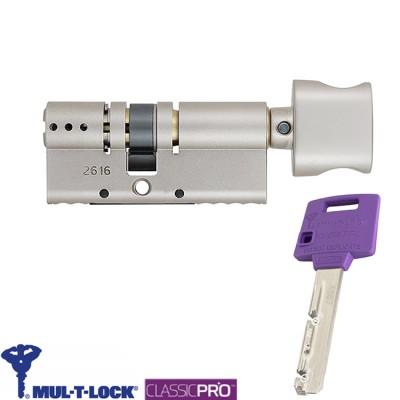 Цилиндр Mul-T-Lock Classic 75 мм 35x40 ключ тумблер