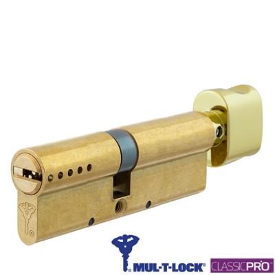 Цилиндр Mul-T-Lock Classic 120 мм 50x70 ключ тумблер
